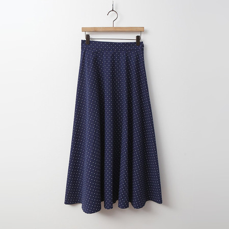 Dot High Full Long Skirt