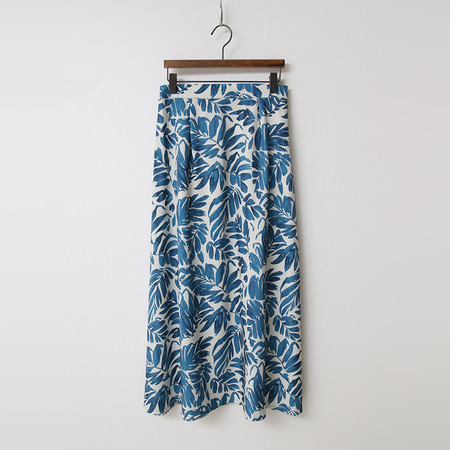 Leaf Full Long Skirt