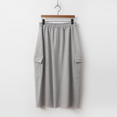 Pocket Easy Long Skirt