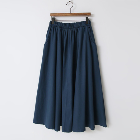Autumn Cotton Full Long Skirt