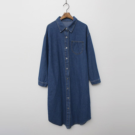 Autumn Denim Long Shirts Jacket