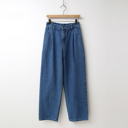 Daddy Pintuck Wide Denim