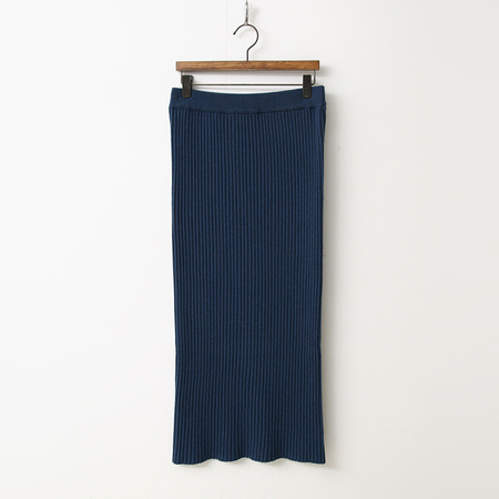 Cashmere N Wool H Long Skirt