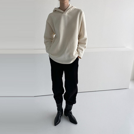 Gimo Hooded Tee - 기모안감