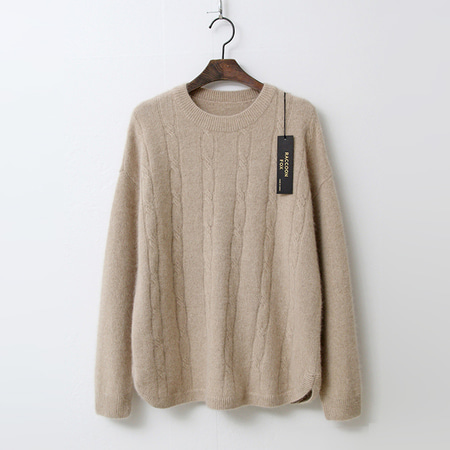 Raccoon Fox N Wool Twist Sweater