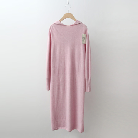 Strick Cashmere Wool Hood Long Dress