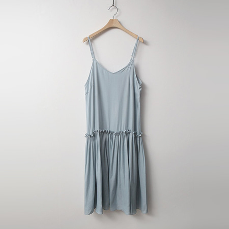 Satin Cami Long Dress