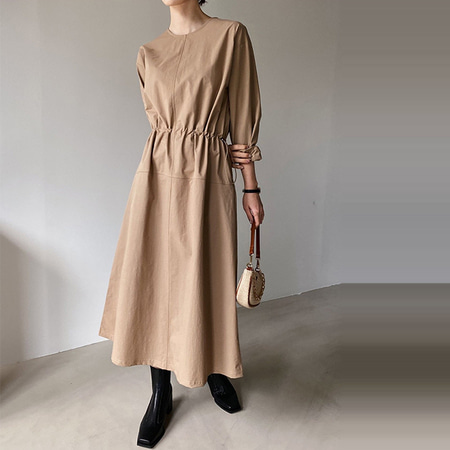 Silvie String Long Dress