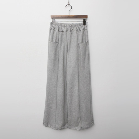 Pocket Easy Wide Pants