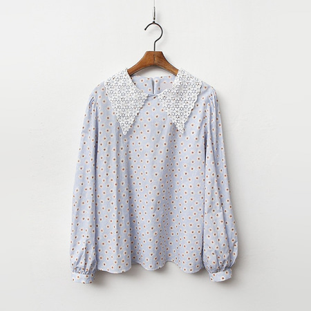 Lace Sailor Daisy Blouse