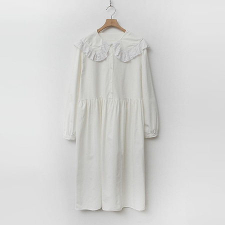Sailor Frill Long Dress