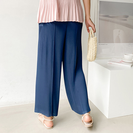 Pleats Wide Pants - 9부