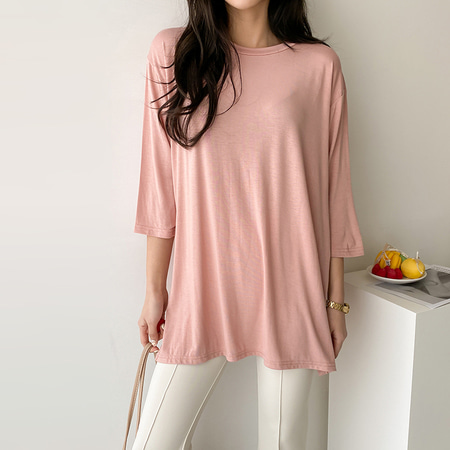 The Slit Long Tee
