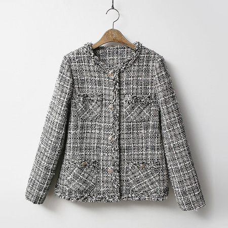 Tweed Vincent Pocket Jacket