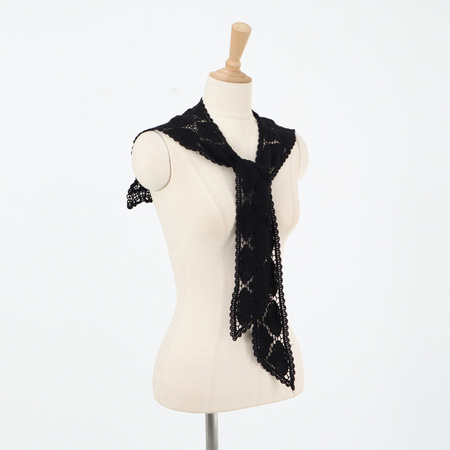 Sailor Square Lace Scarf
