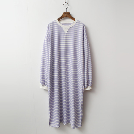 Color Stripe Long Dress