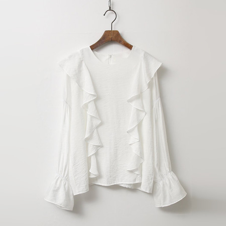 France Frill Blouse