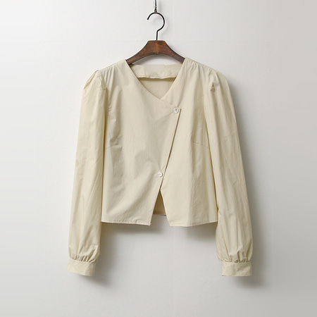Emma Puff Crop Blouse