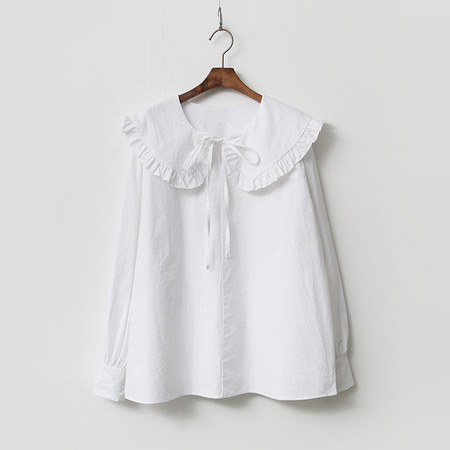 Poppy Frill Sailor Blouse
