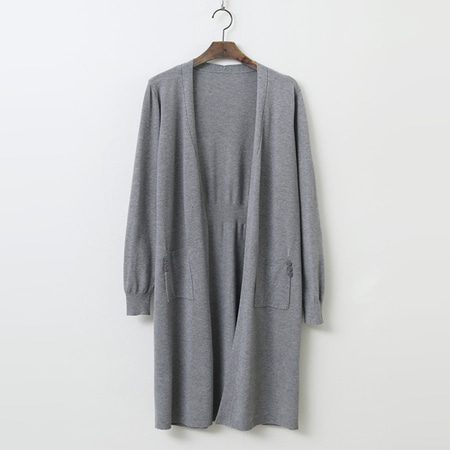 Diego Back Point Long Cardigan