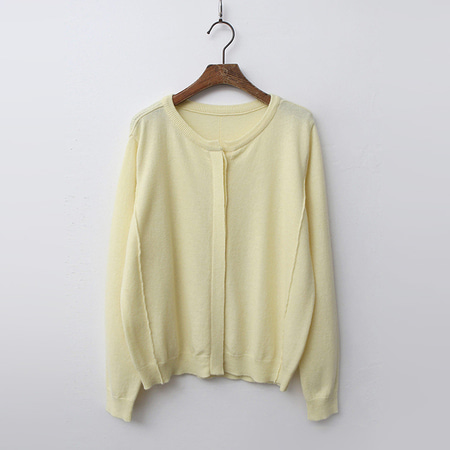 Hidden Cashmere N Wool Cardigan