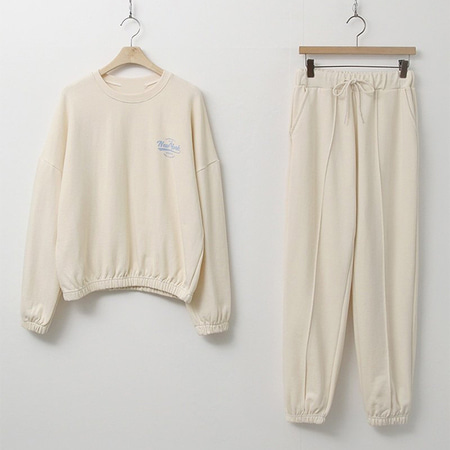 [Set] New York Sweatshirt + Jogger Pants