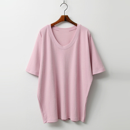 Day U-Neck Cotton Tee