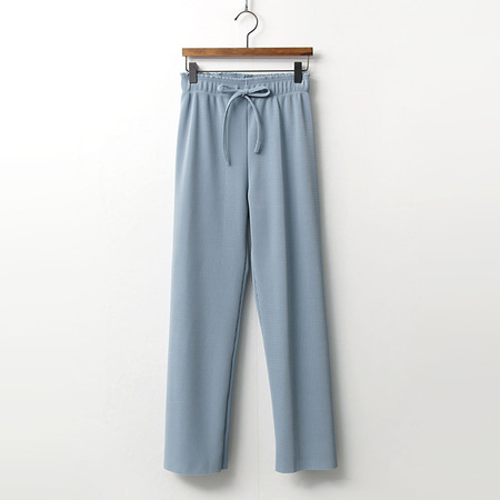 Spring Pleats Straight Pants