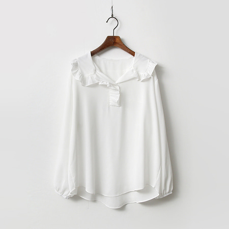 Sailor Ruffle Blouse