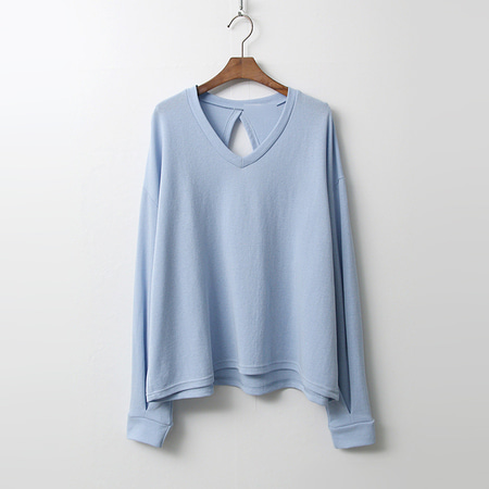 V-Neck Triangle Off Tee