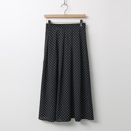 Dot Full Long Skirt