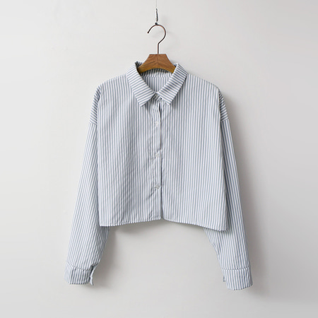 Stripe Crop Shirts