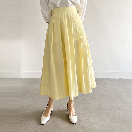 Paris Nylon Full Long Skirt