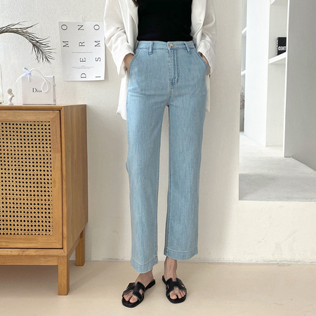 Summer Crop Wide Jeans