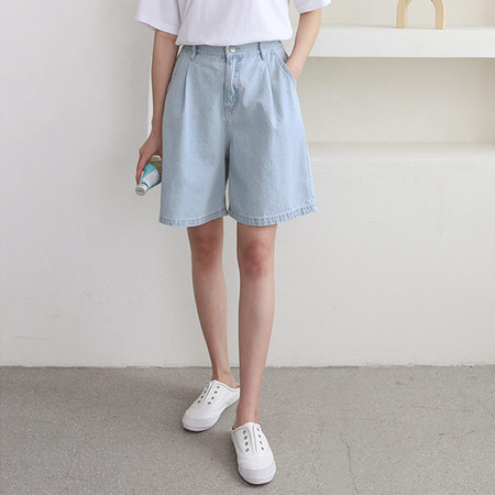 Day Bermuda Denim Shorts